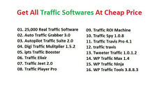 Get 25,000 Traffics on the website -Traffic And SEO Software