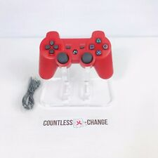 Finera Red Wireless Bluetooth Dualshock Controller For Sony PS3 Playstation 3