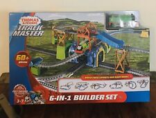 Thomas Train Toy Friends Engine Trackmaster Builder Toy Master Track 6 in 1 Set