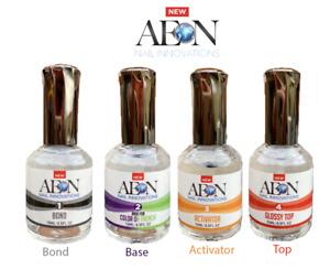 Dipping Powder Gel AEON Nail Gealous Dip Top Base Activator Bond Sealer SNS Set