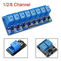 5V 1/2/8 Channel Relay Board Module Optocoupler LED for Arduino PiC ARM AVR 2017