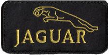 JAGUAR LEAPER (Black) embroidered patch