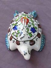 Turkish hand-made ceramic turtle