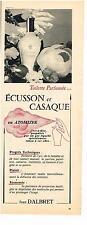 PUBLICITE ADVERTISING   1955  JEAN D'ALBRET  toilette parfumée