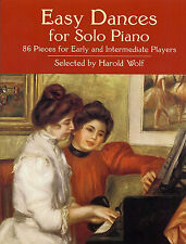 Easy Danze per pianoforte solo imparare a suonare Bach Satie PER PIANOFORTE LIBRO di musica classica