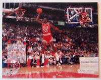 MICHAEL JORDAN SERIAL# SLAM DUNK CHAMPION 8X10 PHOTO