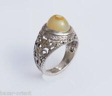 antik orient silberring augen achat  Afghanistan persien silver agate ring Nr:39