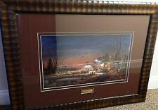 Terry Redlin Welcome To Paradise 1989 Framed Print 13289/14500 Limited Edition