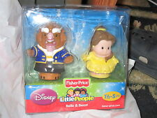 Fisher Price Little People Disney Princess 2 pack Belle Beauty & the Beast Toy
