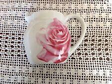 Wall Pocket Vase Plaque Department 56 Porcelain Teapot Pink Rose