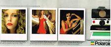 Publicité Advertising 1980 (2 pages) Appareil photo Polaroid SX-70 Land camera