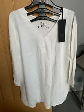 BNWT Riani Blouse Size 12 In Ivory