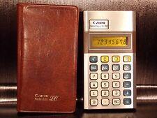 Calculatrice calculator CANON PALMTRONIC LC-8M Japan vintage