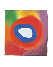 Kandinsky Colour studies with technical Poster Kunstdruck Bild 50x40cm