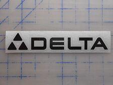"Delta Decal Sticker 5.5"" 7.5"" 11"" Chop Saw Miter Drill Press 10 12 Band Lathe"