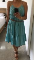 Gorman Oversized Cotton Tiered Dress, Size 12