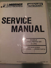 Mercury/Mariner 225 (3 Litre) Service Manual 90-822900