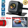 170° IP68 Waterproof Night Vision Car Rear View Reverse Backup Parking Camera HD