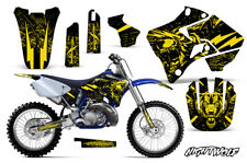 Yamaha YZ125 YZ250 Dirt Bike Graphic Sticker Kit Decal Wrap MX 96-01 NIGHTWOLF Y