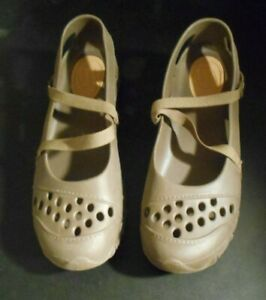 Skechers Mary Janes Brown Synthetic Women Shoes Size 10 Medium B M