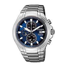 Citizen CA0700-51L Masculino Azul Paradigma Relógio Eco-Drive