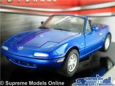 MAZDA MX5 CAR MODEL 1:24 SIZE MIATA EUNOS BLUE OPENING PARTS LARGE MX-5 SPORTS T