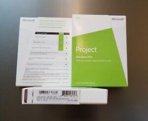 Microsoft Project Standard 2013 Retail Box Key Card 076-05068