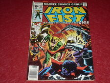 [BD COMICS MARVEL USA] IRON FIST # 15 - 1977 / X-MEN Dernier numéro / Last