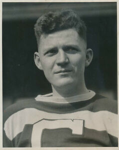 1930 Gord MacFarlane, Cleveland Indians & Chicago Black Hawks, Orig Type 1 Photo