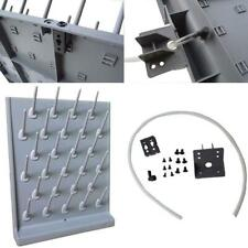 TECHTONGDA Wall Desk Drying Rack PP 27 Pegs Lab Educational Cleaning Supply US