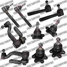 Steering Front EndTie Rods Joints Idler Arm For 98,99,00,01 Chevy Astro Van Awd