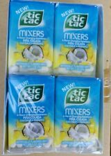 Tic Tac Mixers Pina Colada Coconut Pineapple PACK of 12.   Best by date Feb 2019