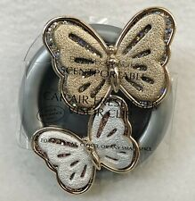1 Bath Body Works BUTTERFLY DUO Glitter Scentportable Holder Unit Visor Clip