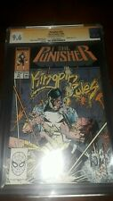 Signed PUNISHER #14 CGC SS 9.6 NM+ by Portacio Cover artist 1988 - Free Shipping