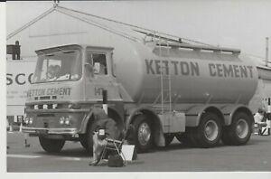Photo, ERF Tanker,  Ketton Cement