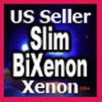Slim HID BiXenon Xenon Conversion Kit 9007 8K 5000K H13