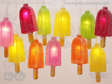 Ice Lolly / popsicle LED String Light Chain, Battery Powered Fairy Lights