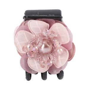 Women Crystal Hair Claw Pearl Flowers Hairpins Hair Clips Girls Hair Accessories