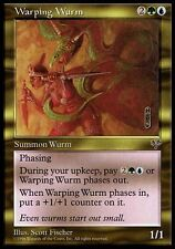 1x Warping Wurm Mirage MtG Magic Gold Rare 1 x1 Card Cards