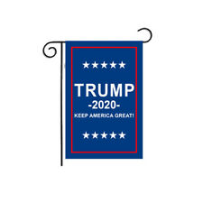 Double Sided Flag for Supporting Trump 2020 Outdoor Garden Yard Home Decor Prop
