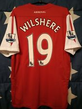ARSENAL ENGLAND 2011-2012 HOME FOOTBALL SHIRT JERSEY WILSHERE #19 SIZE L ADULT