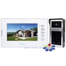 HOMSECUR 7'' Video Door Intercom with 700TVLine HD Camera & Password/RFID Unlock