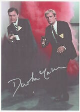 DAVID McCALLUM Signed 7x5 Photo THE MAN FROM UNCLE COA