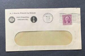 1935 CHICAGO IL BASEBALL PIONEERS AJ REACH +WRIGHT/DITSON TENNIS ! AD COVER COIL