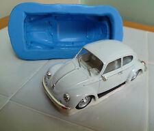 VW escarabajo coche 3d Molde de silicona para tarta DECORACIÓN, chocolate,