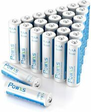 POWXS 2000mAh AA Rechargeable Batteries 1.2V NiMH R6 For Flashlight Camera Toy