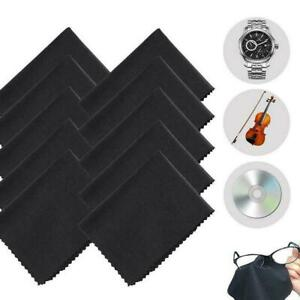1/10PCS Microfiber Cleaning Cloth For Camera Lens Glasses Screen LCD TV J0Z6