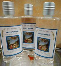 Holy Water lot 3 Bottles from the Blessed Jordan River 250 ml,8.45 oz each