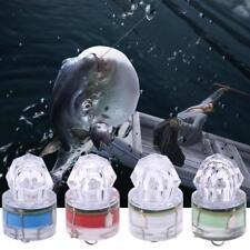 Flash LED Luz de pesca profunda caída bajo el agua calamar lámparas de luz estroboscópica Cebo Señuelos GL462