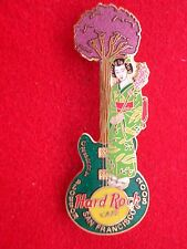 HRC Hard Rock Cafe San Francisco Cherry Blossom 2003 Geisha LE500